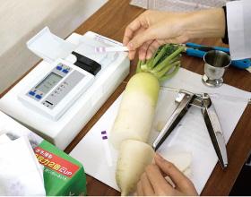 全生産者の野菜をシーズン毎に放射能検査