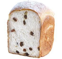レーズン玄米ミルク食パン